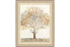One Kings Lane - Family Gatherings - Watercolor Tree Print I