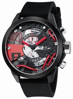 A'-tek A1403R Turbo chronograph men's watch 48mm