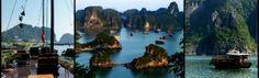 Vietnam, Halong Bay and Bai Tu Long Bay