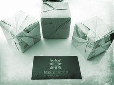 Box Origami <3  http://www.meirehirata.com/
