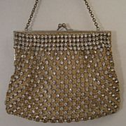 Elegant French Purse with Jewelled Frame
