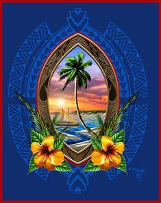 Chamorro Recipes, Chamorro Food, Guam Tattoo, Guam Beaches, Photo Collage Maker, Time Tattoos, Sleeve Tattoos, Sea To Shining Sea, Island Girl