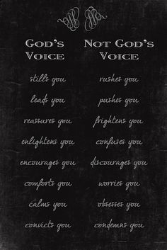 Gods Voice - What it is and What it isnt by Sparrow Girl- Will I EVER Catch Up?, via Flickr