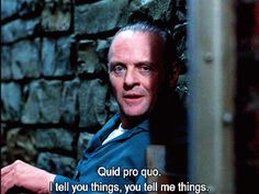 """You should always have give and take. 