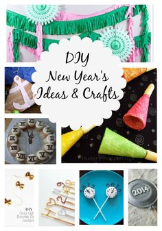 DIY New Year's Eve Ideas and Crafts