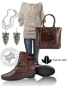 9501brown  Get comfort and warmth wight these genuine leather Froggie Boots!