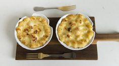 Coquilles Saint-Jacques | Mordu Coquille Saint Jacques, Ricardo Recipe, Fish And Seafood, Cheeseburger Chowder, Soup, Pudding, Pie, Desserts, Saints