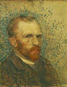 Vincent van Gogh, 1853–1890. Self portrait 1887. Van Gogh Museum, Netherlands.