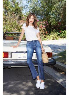 Alexa Chung for AG Jeans in Superga 2750 Cotu Classics