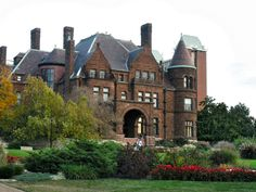 Cupples House; on the campus of St. Louis University in St. Louis, Missouri.