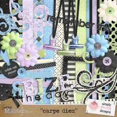 Love the idea of hanging the clip from a cord!    Digital Scrapbooking Freebies and Kits