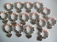 Custom Made Personalised Hen Party Wine Charms by PulseJewellery, £1.00