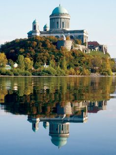 Esztergom Basilica in Hungary. Worth a visit when cycling the Danube Bike Trail. Danube River Cruise, Hungary Travel, Heart Of Europe, Budapest Hungary, Eastern Europe, Homeland, Beautiful Places, Scenery, Building