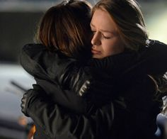 The Danvers sisters share a moment.