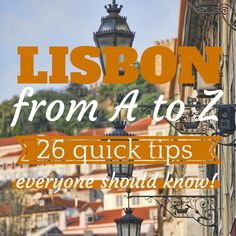 Amazing 10 Unique Lisbon Experiences You Must Try Right Now! If you're planning to visit Lisbon this is a must read guide. Here you can find 10 unique what to do things in Lisbon. Where to listen the traditional Fado music, amazing Lisbon viewpoints, relax watching the Lisbon sunset at a trandy terrace, original Lisbon city tours and much more... Find all 10 Unique Lisbon Experiences here: www.casteloapartment.com/lisbon-10-unique-experiences