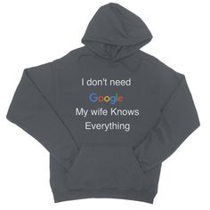Funny College Hoodie