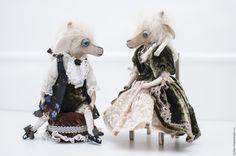 Купить Признание в любви...(Друзья мишек тедди) - белый, друзья тедди, друзья мишек тедди