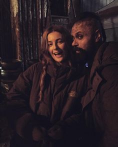 """""""Our awesome and are here shooting on Vikings Show, The Last Kingdom, Movie Costumes, Boys Who, Favorite Tv Shows, The Outsiders, Millie Brady, Alexander Dreymon, Couple Photos"""