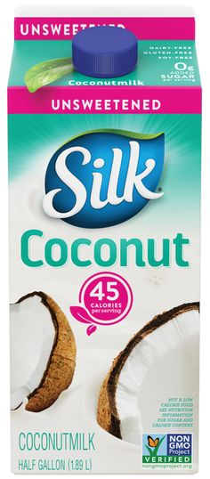 Coconut milk can be a healthy cow's milk alternative but some brands should be avoided. Here are the ones to choose in both the carton and canned varieties. Whole 30 Coconut Milk, Coconut Milk Brands, Coconut Milk Recipes, Raw Food Recipes, Drink Recipes, Dinner Recipes, Cocunut Milk, Unsweetened Coconut Milk, Sugar Cleanse