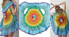 Rainbow Mandala Waistcoat