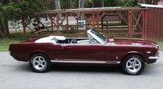 1966 Ford Mustang Convertible. Such a dream car.