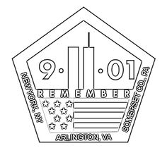 911 Coloring Page September 11 Printable