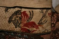 Trøye/short gown - second half of 18th century. Hedmark, Norway. - Lining detail