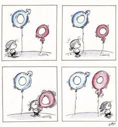 Tres dibujantes españoles ganan un concurso de la ONU por la igualdad