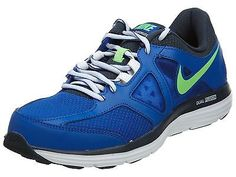 Nike Dual Fusion Lite 2 Msl Mens 642821-409 Blue Green Running Shoes Size 8.5