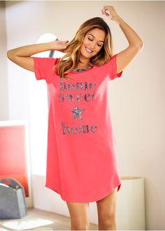 Koszula nocna Luźniejszy fason z lekko • 39.99 zł • bonprix
