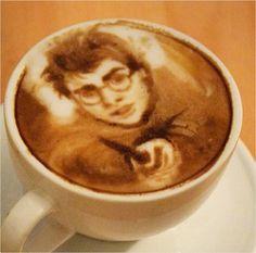 Harry Potter Latte