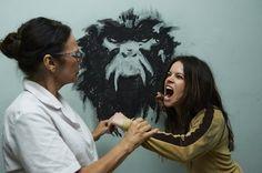 Jennifer Goines Acts Up - 12 Monkeys Season 1 Episode 2