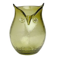 Got one for Christmas and I love it! Image detail for -autumn owl green glass hurricane 651388 handmade owl hurricane vase Hurricane Vase, Hurricane Candle Holders, Owl Always Love You, My Love, Pressed Glass, Four Leaf Clover, Deco Design, Wizard Of Oz, Sculpture