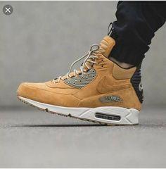 44b755f46b Nike Air Max 90 Sneakerboot Winter Waterproof Wheat 684714-700 Men Size 10  Brown #