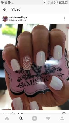 Bling Nails, Glitter Nails, Mandala Nails, Nail Spa, Matte Nails, Nail Trends, Natural Nails, Summer Nails, Beauty Hacks