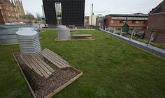 Boosting green space in urban areas of the #UK as a way to expand passive urban rain catchment.