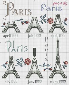 Paris brodé