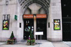 Franchia Vegan Cafe New York Cafe New York, Vegan Cafe, Cafe Restaurant
