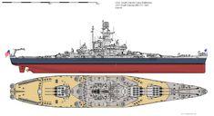 USS South Dakota (BB-57) battleship, 1942. (google.image) 02.18 Uss Houston, Uss Massachusetts, Navy Coast Guard, Us Battleships, Hms Victory, Us Navy Ships, Naval History, Army & Navy, Submarines