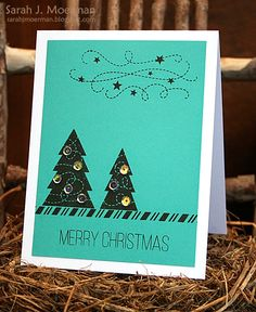 Created by Sarah Moerman using the November 2014 card kit by Simon Says Stamp. October 2014
