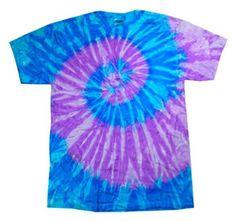Adult Swirl Tie-Dyed Cotton Tee (Lavender Blue Spiral) (Small) tie dye http://www.amazon.com/dp/B00375ODSU/ref=cm_sw_r_pi_dp_KaW2wb0BXZN4X