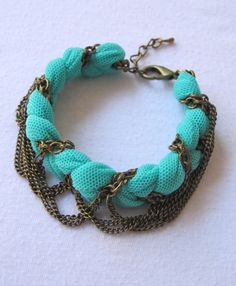 DIY: 25 Trendy Handmade Bracelets...Great for summer time.  Colorful bracelets are always a great accessory.