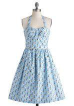 potential bridesmaid's dress! Wave Your Pennant Dress   Mod Retro Vintage Dresses   ModCloth.com