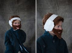 The Artistic Hipster Parent's Guide To Children's Costumes | vincent van gogh