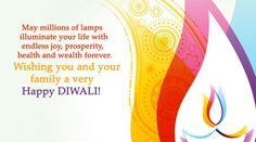 May millions of lamps illuminate your life this Diwali Diwali Wishes, Happy Diwali, Diwali Images, Lamps, Joy, India, Gallery, Quotes, Life