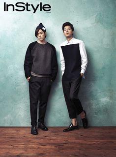 Hong Jong-hyun & Lee Chun-hee // InStyle Korea // July 2013