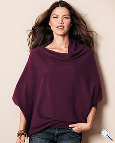 Asymmetrical Cashmere Sweater