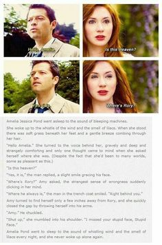 Cas and Amy.