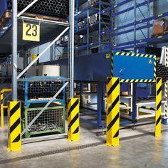 TRAFFIC LINE - Heavy Duty Pallet Rack Protectors