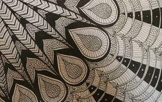 Grafismo - Pluma de ave